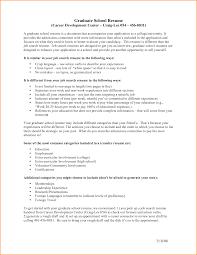 Graduate School Resume Objective Resume Online Builder