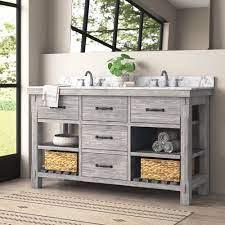 60 Inch Rustic Bathroom Vanities You Ll Love In 2021 Wayfair