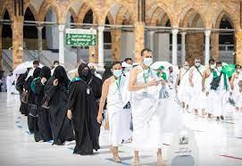 صحيفة الإرسال » حجاج بيت الله يؤدون طواف الإفاضة
