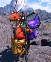 Ffxiv Warrior Of Light Barding This Will Sting Nihil242 Lunar Barding Is Really Pretty