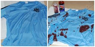 we used an old baseball shirt from last season and we found a beat up baseball bat at a local thrift