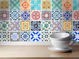 Spanish Tile Kitchen Backsplash Traditional Spanish Tiles Stickers Tiles Decals Tal