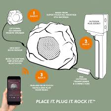 features bluetooth rock speaker