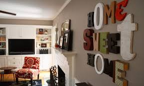 wooden letter wall decor. Home Sweet Diff Letters Wooden Letter Wall Decor