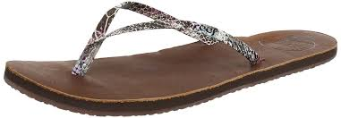 reef leather uptown multi snake women s flip flop sandals shoes sports outdoor pool reef shoes official authorized