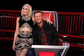 Celeb Couple Blake Shelton and Gwen ...