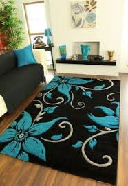 Image Bedroom Large Black Teal Grey Floral Print Thick High Quality Modern Havana Rug For Sale modern Pinterest 41 Best Beautiful House Rugs Images Carpet Rugs Home Rugs