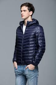 newest 2016 winter autumn men 90 white duck down jacket men hooded ultra light down jackets man warm