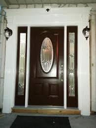 home depot front doors with sidelightssteel entry door with single sidelight Renewal by Andersen