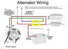 automotive alternator wiring diagram boat electronics wiring diagram of car alternator california pacific jbugs carries vw alternators, generators and starters for your volkswagen