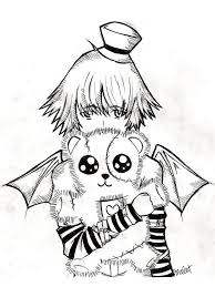 Small Picture 13 best Emo ausmalbilder images on Pinterest Colouring pages