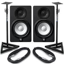 yamaha hs8 pair. yamaha hs8 with stands and cables hs8 pair a