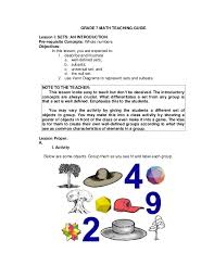Real Numbers Venn Diagram Worksheet Math Gr 7 Teachers Guide Q12