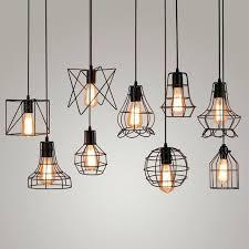 industrial pendant lighting rustic light lights vintage