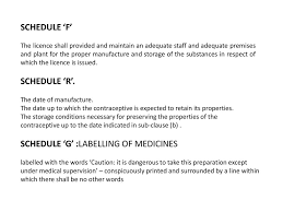 Medicines Schedule Y B Chavan Collge Of Pharamcy Aurangabad Ppt Download