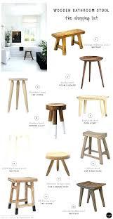 small wooden stool ikea small round wooden stool small bathroom stool elegant bathrooms simple with white small wooden stool ikea