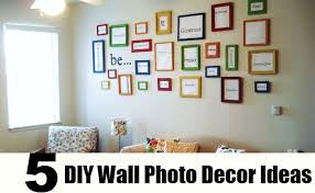 top diy wall photo decor ideas images of photo als top wall decoration