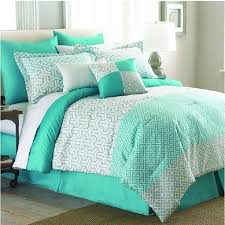 teal queen bedding. Contemporary Teal Mint Green 8piece Comforter Set White King Queen Bedding Pillows Bag Dorm  Bed In Teal
