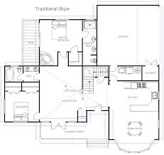 floor plan with furniture. floor plan example with furniture l