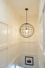 lighting for basement ceiling. Night Lighting On Stairs. The Awesome Orb Like Light Is Super Cool. It Was For Basement Ceiling