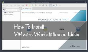 how to install vmware how to install vmware workstation on linux