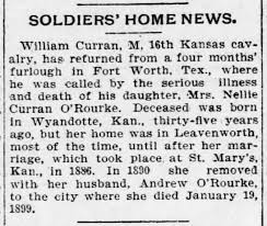 O'Rourke, Nellie Curran Death - Newspapers.com