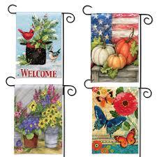 seasonal garden flags