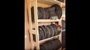 custom built drums storage rack