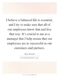 Balanced Life Quotes Stunning I Believe A Balanced Life Is Essential And I Try To Make Sure