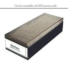 Business Card File Box Business Card Organizer Business Card File