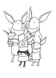Family Coloring Pages For Preschoolers Free Classy World