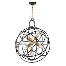 6 light oil rubbed bronze chandelier