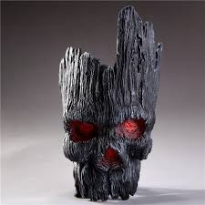 <b>Gothic Skull</b> Planters Black <b>Skull</b> Pot Cool <b>Halloween</b> Flowerpots ...
