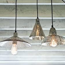mercury glass chandelier seeded pendant lights clear pendants light kitchen gla mercury glass chandelier