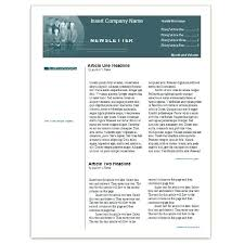 free newsletter templates for word ms word newsletter template mortgage broker in download office