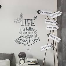 Wall Quotes Adorable Life Quote Wall Sticker Large Best Wall Art Quotes Home Design And