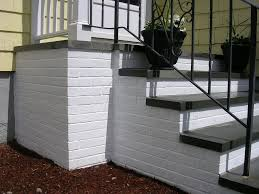 to prvent slipping down painted steps you can use sand in the paint or go