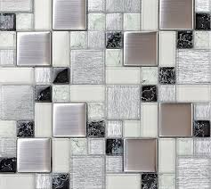 crystal glass tile backsplash satin patterns silver plated glass brushed mosaic tiles bravotti com