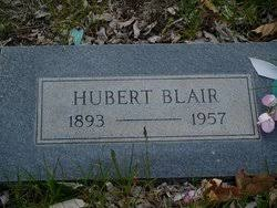Hubert Blair (1893-1957) - Find A Grave Memorial