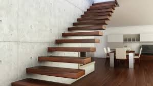 Floating Stairs Construction Modern Ideas Photos 88