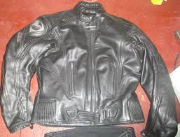lookwell leather motorcycle jacket padded jeans also available waist 32