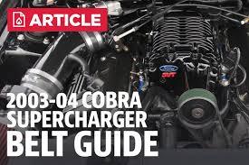 03 04 Cobra Supercharger Belt Chart Lmr Com