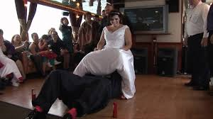 funniest garter toss, wedding, blooper funny must see youtube Wedding Garter Facts Wedding Garter Facts #47 wedding garter facts