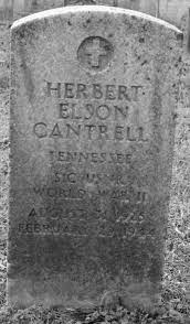 Herbert Elson Cantrell (1925-1944) - Find A Grave Memorial