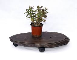 wood stump indoor plant stand large rolling live edge planter stand glass coffee tables coffee table sets