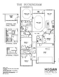 hogan homes floor plans buckingham 171