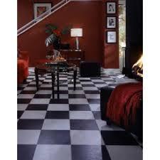 Black And White Chess Slate Laminate Flooring