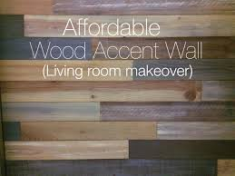 Accent Wall In Living Room living room makeover with wood accent wall youtube 1144 by xevi.us