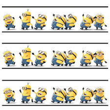 Minions Wallpaper For Bedroom Despicable Me Minions Self Adhesive Official 5m Wallpaper Border