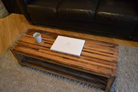 reclaimed wood coffee tables paint